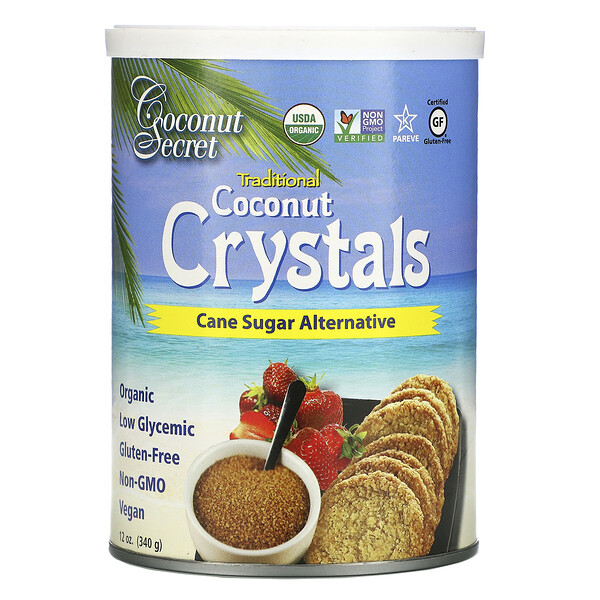Coconut Secret, Coconut Crystals, 12 oz (340 g) (Discontinued Item)