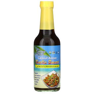 Coconut Secret, CoconutAminos, Salsa de ajo, 296ml (10oz.líq.)