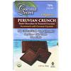 Coconut Secret, قرمشات بيروفية عضوية، شوكولاتة داكنة وجوز الهند المحمص، 2.25 أونصة (64 جم)