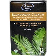 Coconut Secret, Ecuadorian Crunch, Milk Chocolate & Toasted Coconut, 2.25 oz (64 g)