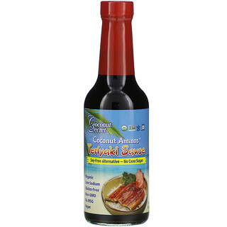 Coconut Secret, Salsa de Teriyaki, Aminoácidos de Coco, 10 fl oz (296 ml)