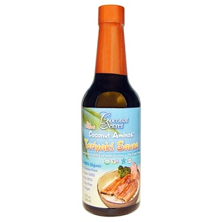 Coconut Secret, Teriyakiso▀e, Kokosnuss-Aminos, 10 fl. oz. (296 ml)