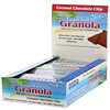 Coconut Secret, Crunchy Grain-Free Granola Bar, Coconut Chocolate Chip, 12 Bars, 1.2 oz (34 g) Each