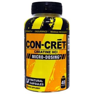 Con-Cret, Creatine HCI, Micro-Dosing, 48 Natural Capsules