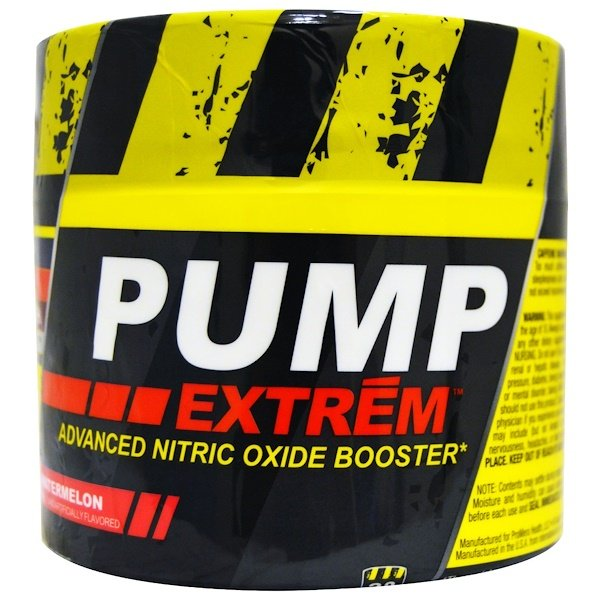 Con-Cret, Pump Extrem, Advanced Nitric Oxide Booster, Watermelon, 4.97 oz (140.8 g) (Discontinued Item)