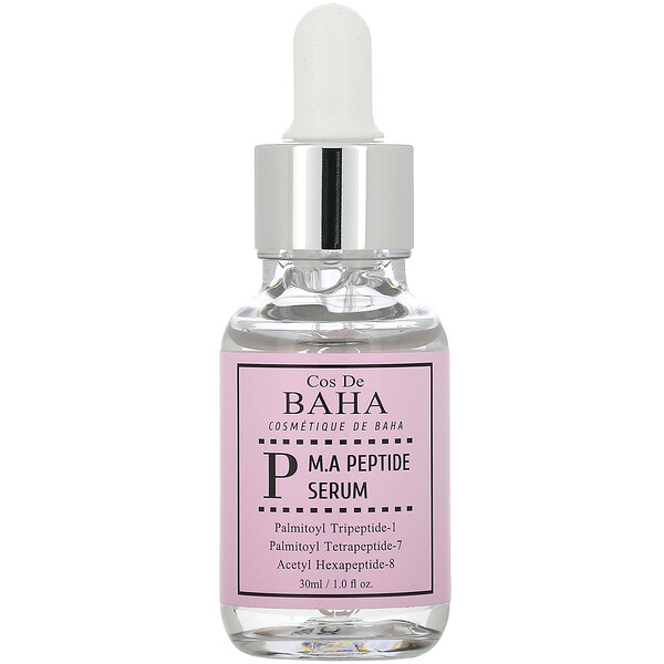 Cos De BAHA, P, M.A Peptide Serum, 1 fl oz (30 ml)