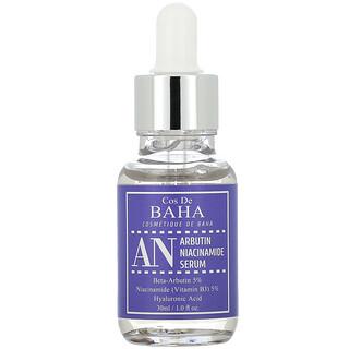 Cos De BAHA, AN, Arbutin Niacinamide Serum, 1 fl oz (30 ml)