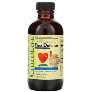 Чайлдлайф, Essentials, First Defense, 4 fl oz (118.5 ml) отзывы покупателей