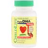 ChildLife, शुद्ध डीएचए, प्राकृतिक बेरी स्वाद, 90 चबाने योग्य नरम जेल कैप्स