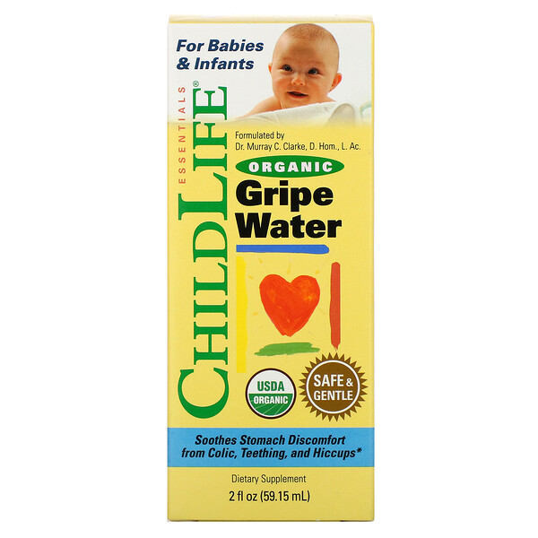 Organic Gripe Water, 2 fl oz (59.15 ml)