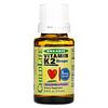 ChildLife, Orgánico, gotas de vitamina k2, sabor natural a bayas, 0.406 fl z (12 ml)