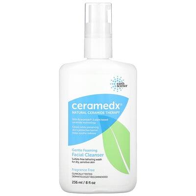 Купить Ceramedx Gentle Foaming Facial Cleanser, Fragrance Free, 8 fl oz (236 ml)