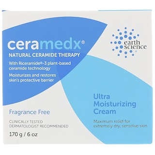 Ceramedx, Ultra Moisturizing Cream, Fragrance-Fee, 6 oz (170 g)