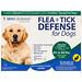 Flea + Tick Defense for Dogs 45-88 lbs., 3 Applicators, 0.091 fl oz Each - изображение
