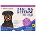 Защита от блох и клещей для собак 89-132 фунтов, 3 аппликатора по 0.136 жидких унций каждый - изображение