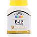 B-12, пролонгированное действие, 1000 мкг, 110 таблеток - изображение