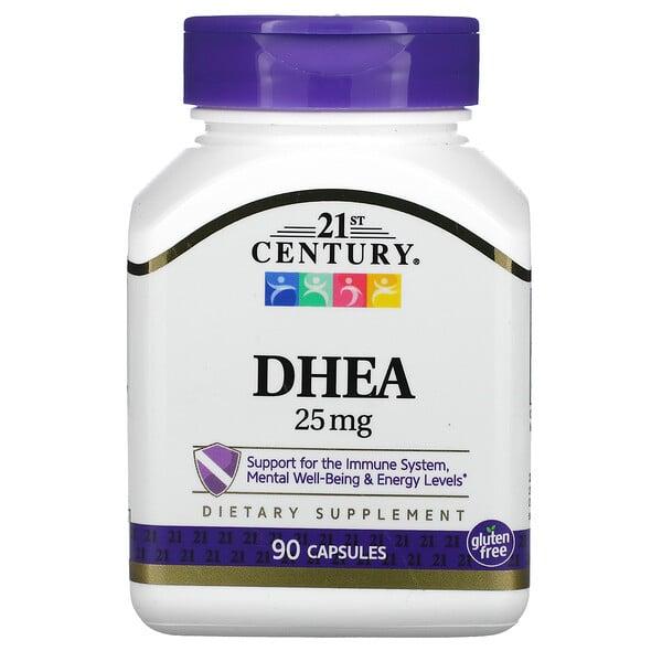 DHEA, 25mg, 90cápsulas
