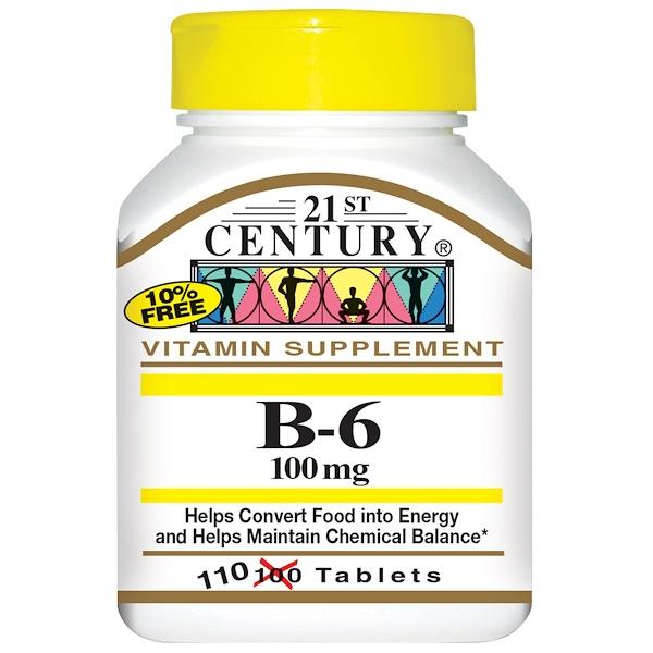 21st Century, B-6,100 毫克,110 片