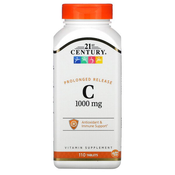 21st Century, C-1000, Prolonged Release, 110 Tablets