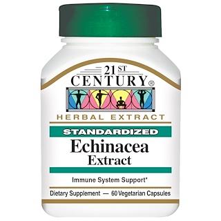 21st Century, Echinacea Extract, 60 Veggie Caps