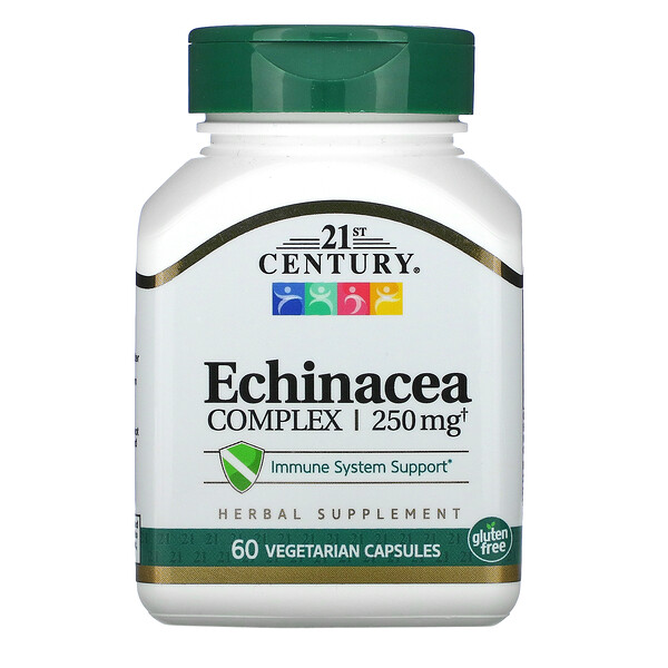 Echinacea Complex, 250 mg, 60 Vegetarian Capsules