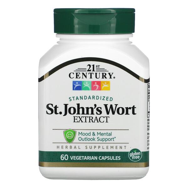 St. John's Wort Extract, 60 Vegetarian Capsules