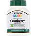 Cranberry Extract, Standardized, 60 Vegetarian Capsules - изображение
