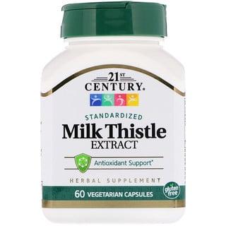 21st Century, Milk Thistle Extract, 60 Vegetarian Capsules