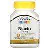 21st Century, Niacin, 100 mg, 110 Tablets