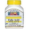 21st Century, Folic Acid, 400 mcg, 250 Tablets