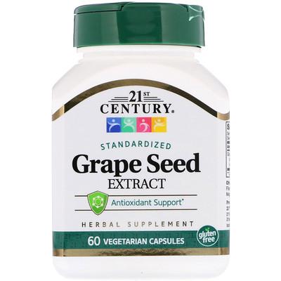 Купить Экстракт косточек винограда 60 овощных капсул