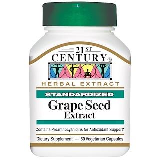 21st Century, Grape Seed Extract, 60 Veggie Caps