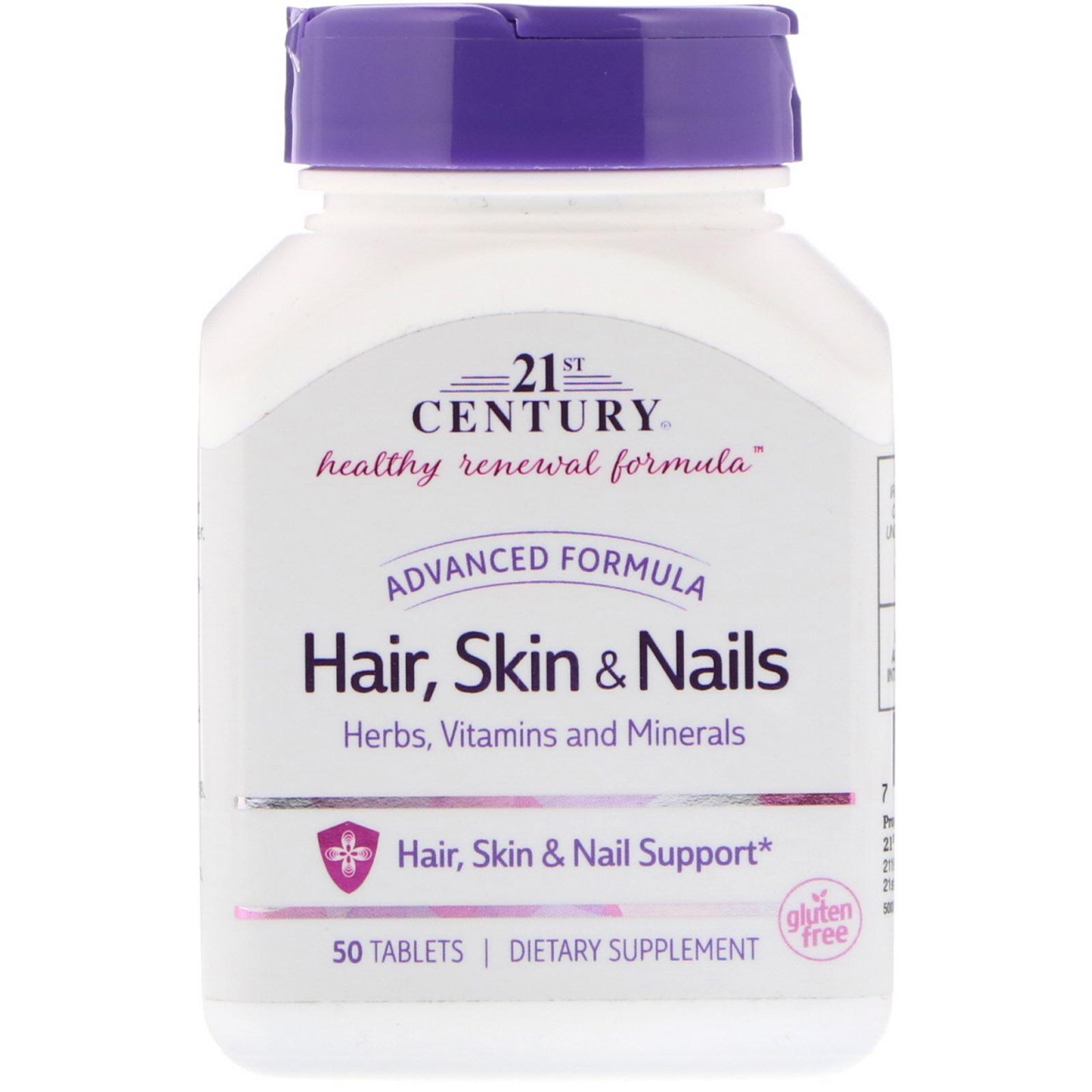 21st Century Hair Skin Nails Advanced Formula 50