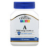 21st Century, Vitamin A, 3,000 mcg (10,000 IU), 110 Softgels