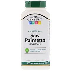 21st Century, Saw Palmetto Extract, Standardized, 200 Vegetarian Capsules