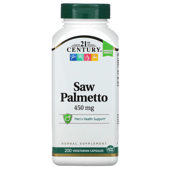Saw Palmetto, 450 mg, 200 Vegetarian Capsules