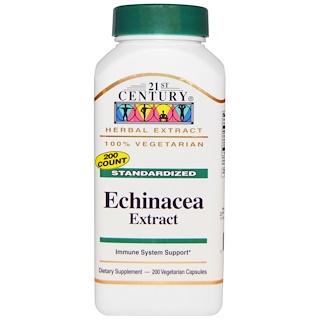 21st Century, Echinacea Extract, 200 Veggie Caps