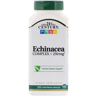 21st Century, Echinacea Complex, 250 mg, 200 Vegetarian Capsules