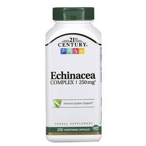 21 Сенчури, Echinacea Complex, 250 mg, 200 Vegetarian Capsules отзывы