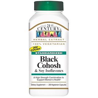 21st Century, Black Cohosh & Soy Isoflavones, 200 Veggie Caps