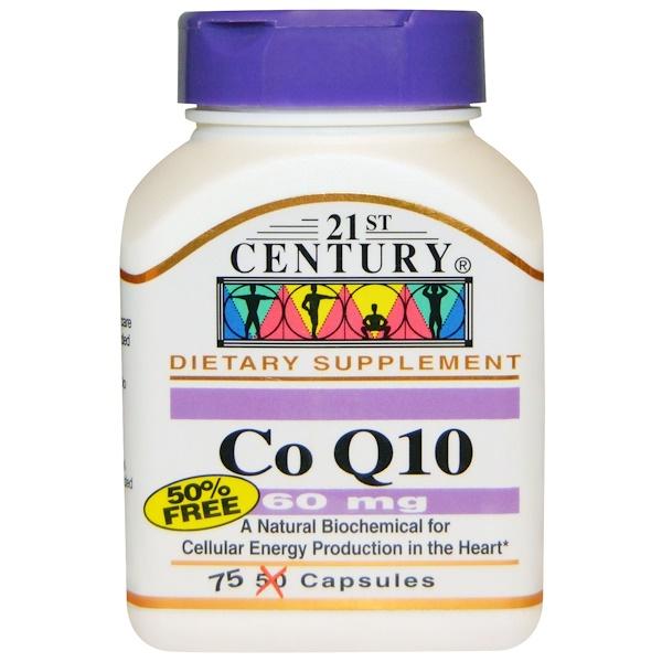 21st Century, CoQ10, 60 mg, 75 Capsules (Discontinued Item)