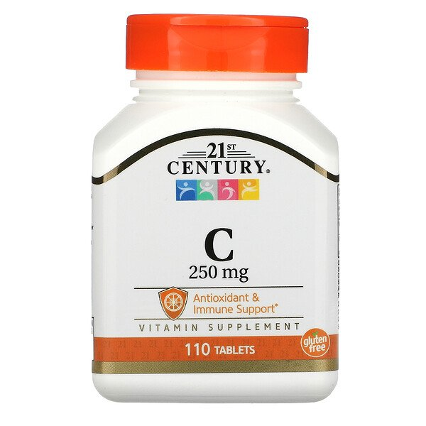 Vitamin C, 250 mg, 110 Tablets