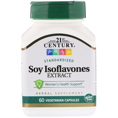 Soy Isoflavones Extract, Standardized, 60 Vegetarian Capsules
