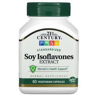 21st Century, Standardized Soy Isoflavones Extract, 60 Vegetarian Capsules