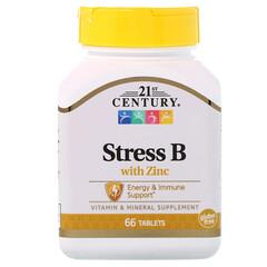 21st Century, ストレスB, 亜鉛配合, 66錠