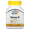 21st Century, VitaminaB con zinc para el estrés, 66comprimidos