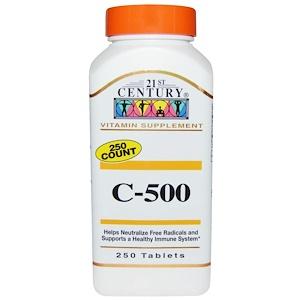 21st Century, C-500, 250 таблеток