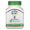 21st Century, Natural Vitamin E, 268 mg (400 IU), 110 Softgels