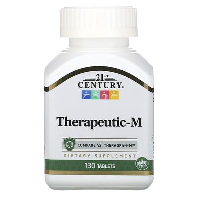 Купить 21st Century Therapeutic-M, 130 таблеток