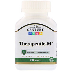 21st Century, Therapeutic-M, 130 Tablets